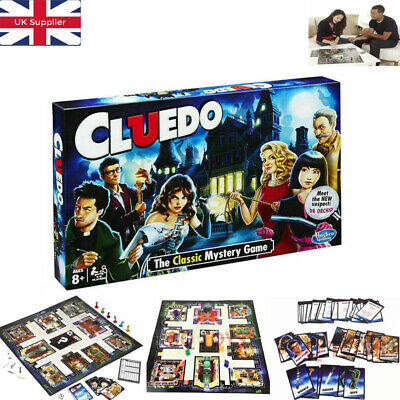 New Cluedo The Classic Mystery Board Game Perfect Family Game Hot UK Fift 2020