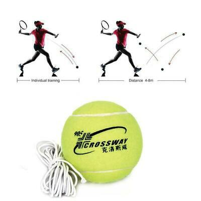 Tennis Training Tool Exercise Rebound Ball Trainer Top Practice Baseboard B P9W2