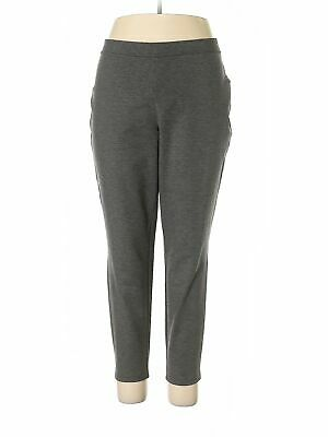 NWT Philosophy Republic Clothing Women Gray Casual Pants 3X Plus