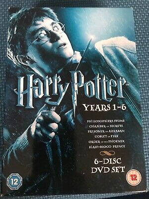 Harry Potter Years 1 - 6 - DVD Box Set, Nhs Donation