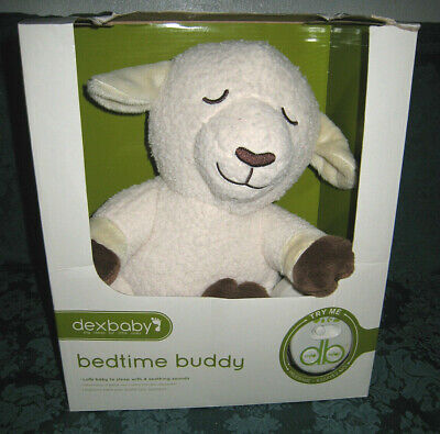 Dexbaby Baby Nature Sleep Sound Bedtime Buddy Lamb - Womb Heartbeat Soother NEW