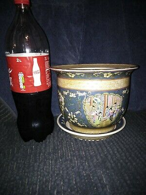 Rare Old Qing Dynasty Mark of Qianlong Porcelain Vase Chinese Antique