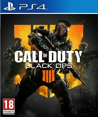 Call Of Duty Black Ops 4 IIII Playstation 4 PS4 MINT CONDITION - FAST DISPATCH