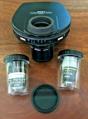 Hoffman Modulation Contrast Set for Nikon TE2000 or Ti microscope