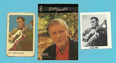 Eddy Arnold Fab Card Collection American country music singer  Grand Ole Opry