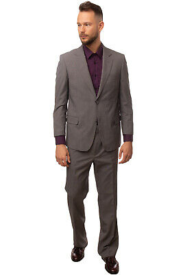 RRP €265 DOMENICO TAGLIENTE Suit Size 57 / 3XL Patterned Pleated Single Breasted