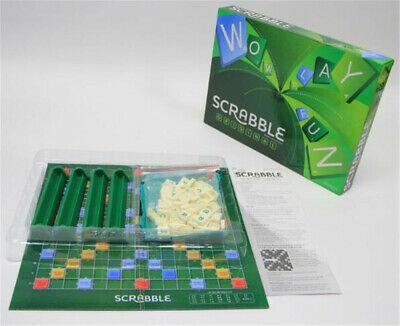 Family Original Scrabble Game Kid Adult Educational Learning Party Game Board gr