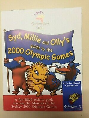 2000 Olympic Games Activity Pack starring the Mascots from Sydney 2000 Olympics