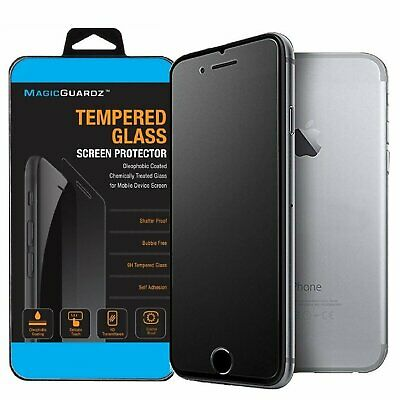Matte Frost Tempered Glass Screen Protector For iPhone 6 7 8 Plus X XR XS MAX SE