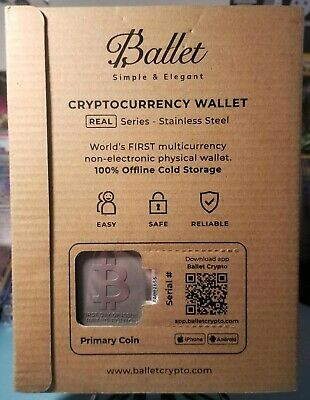【Limited Edition】 First Day of Issue - Bitcoin Ballet Cryptocurrency Wallet