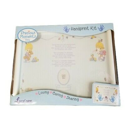 Precious Moments Handprint Kit Baby Gift Nursery Decor