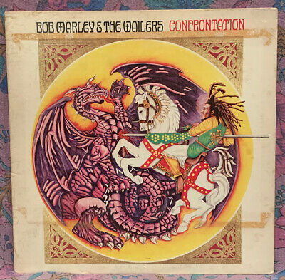 Bob Marley & The Wailers - Confrontation LP - Original 1983 Pressing - Island