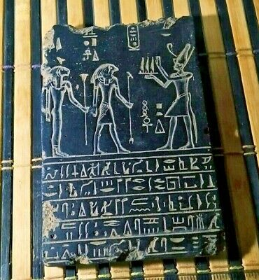 RARE ANCIENT EGYPTIAN ANTIQUE BOOK DEAD Stella 1358-1253 BC