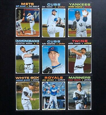 2020 Topps Heritage High Number Lot
