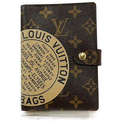 Louis Vuitton Diary Cover Agenda PM R21039 Browns Monogram 1207711