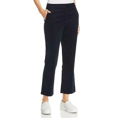 Joie Womens Marcena Navy Corduroy Cropped Hi-Rise Cropped Jeans 0 BHFO 9897