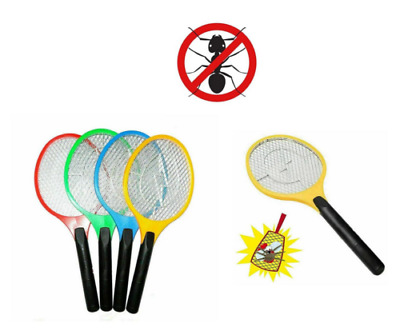 Electric Mosquito Swatter Racket Powerful High Quality Style Insect Bat 50cm