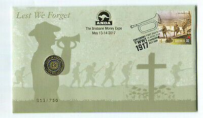 """2017 $2 PNC: ANDA """"Lest We Forget."""""""