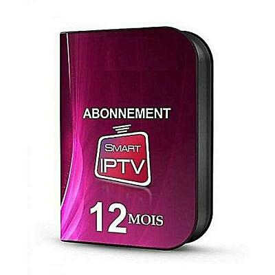 iptv smart & Smarters net iptv 12 mois  FullHD M3U Android IOS Sports Activation
