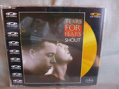 Tears for Fears- Shout- CD-Video- 4-Track-MCD