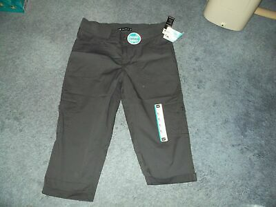 NEW Womens Skimmer Pants 6 LEE Chocolate Brown Relaxed Fit Just Below The Waist