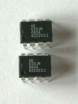 Analog divider and multipliers AD633JN 8 pin dip  Analog Divices 2pcs 5.25 HU665