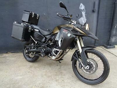 Bmw F800Gs Adventure Motorcycle