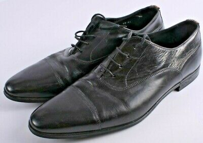 Paul Smith Smart Black Leather Shoes Size UK 10 -CP7162