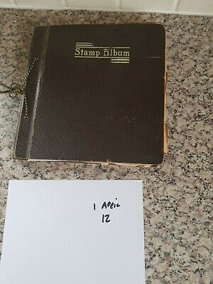 Stamp albums with stamps x25 pages for sorting