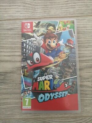 Nintendo Super Mario Odyssey Switch Game - FULLY WORKING - GREAT BUY
