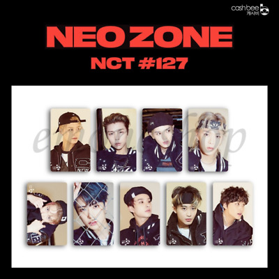 PRE-ORDER NCT 127 NEO ZONE CASHBEE PHOTO CARD SEALED KPOP Official MD +Tracking#