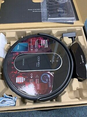 Cecotec Robot Vacuum Cleaner Conga 1490 Impulse. Hoover & Wet Mopping RRP £280