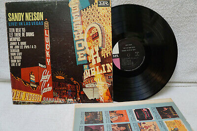 Sandy Nelson Live! In Las Vegas 1964 Usa Lp 9272