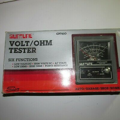 SunTune Volt Ohm Tester CP7610 six Functions