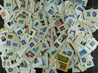 Weeda Canada Uncancelled postage, unused on and off paper Face Value $200.00 FV