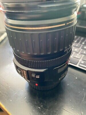 Canon EF 28-135mm LENS f/3.5-5.6 IS Image Stabilizer Ultrasonic Zoom Wide Zoom