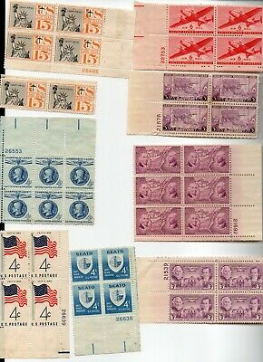Miscellaneous US postage stamps   unused no glue FV 2.12 Lot 14