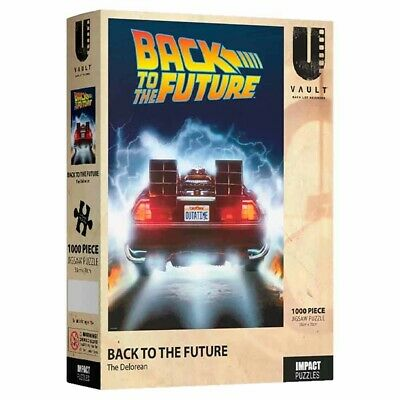 Back To The Future - Delorean 1000-Piece Jigsaw Puzzle - Toys and Collectibles -