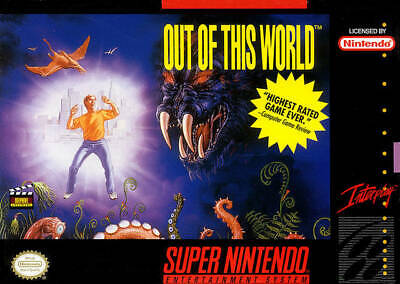 Out Of This World - SNES Super Nintendo Game