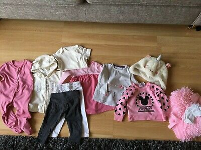BABY GIRLS CLOTHES BUNDLE AGE 3-6 MONTH FROM NEXT etc