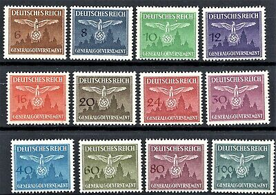GERMANY 1940s GENERAL GOV. OFFICIALS - FULL SET - MINT NEVER HINGED**st