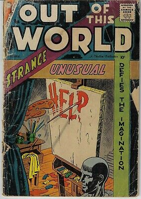 Out Of This World # 10 Charlton 1958 Ditko Art