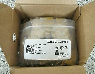 New Bourns MF-R900 30V 40A PPTC PTC Resettable Radial Fuse Fuses Box of 500