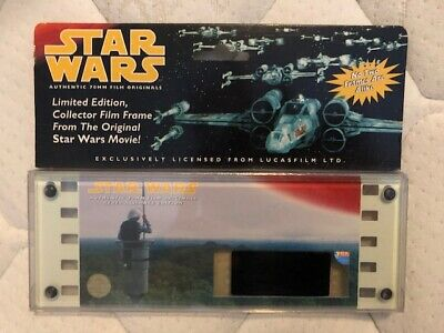 Vintage STAR WARS Rebel Alliance Authentic 70mm Film Cell From Original Movie