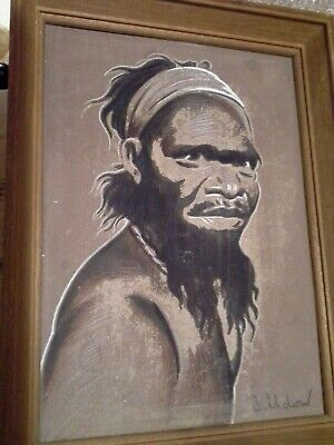 Original Art - 2 Signed Framed Paintings - Aboriginal