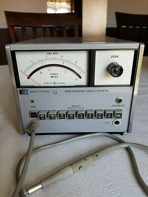 HP-3406A Broadband Sampling Voltmeter (10 KHz to 1.2 GHz)