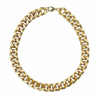 """Gold Chain Dog Collar Necklace - """"The Notorious D.O.G."""""""