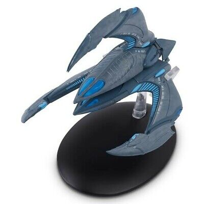 Star Trek Eaglemoss Collections #24 XINDI INSECTOID WARSHIP With Magazine