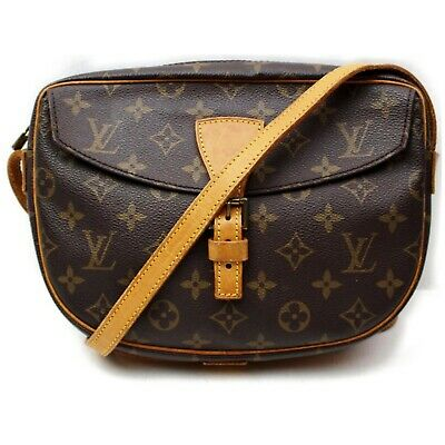Authentic Louis Vuitton Shoulder Bag Jeune fille M51226 Browns Monogram 401209