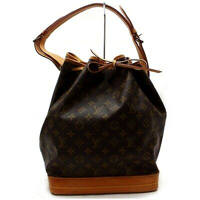 Authentic Louis Vuitton Shoulder Bag Noe M42224 Browns Monogram 401200